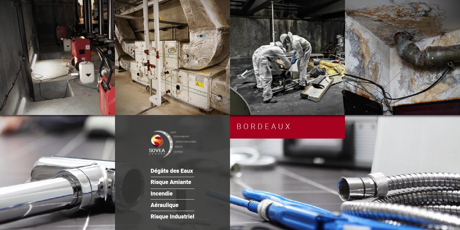 Sovea Bordeaux, gestion de sinistres